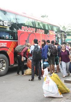 Vé xe đường dài từ TP.HCM bắt đầu tăng giá