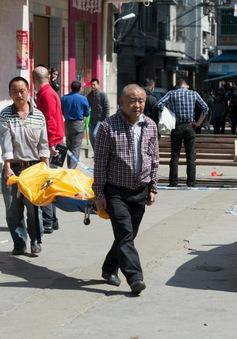 Tấn công bằng dao trước cổng trường học tại Trung Quốc
