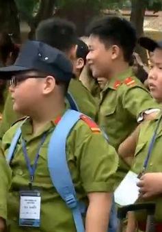 """Trại hè """"Chiến sĩ công an tương lai"""": Thú vị, đầy tính giáo dục"""
