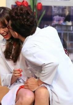 Khoảnh khắc tình cảm của Trấn Thành và Hari Won trên truyền hình