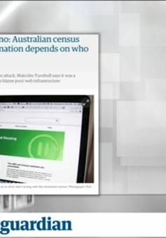 Trang mạng thống kê dân số Australia bị sập - Tâm điểm của báo chí quốc tế