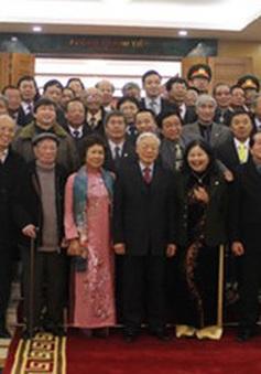Tổng Bí thư gặp mặt và chúc Tết đại biểu trí thức, các nhà khoa học, văn nghệ sỹ