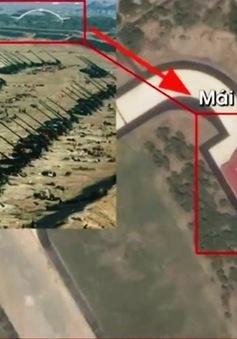 Chủ tịch Triều Tiên Kim Jong Un trực tiếp thị sát diễn tập pháo binh