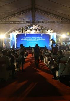 Tưng bừng khai mạc Chợ công nghệ và thiết bị Hà Nội năm 2016