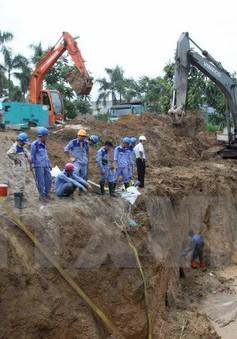 Hà Nội được cấp lại nước sạch sau sự cố vỡ ống lần thứ 17