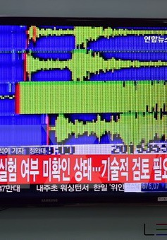 Triều Tiên có thể thử hạt nhân lần thứ 5 mà không có dấu hiệu cảnh báo