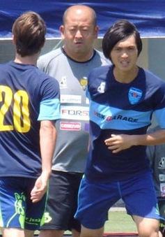 Tuấn Anh gặp chấn thương, lỡ trận đấu tập của Yokohama FC