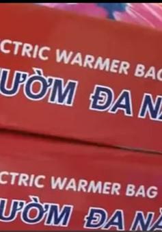 Nguy cơ bị bỏng khi sử dụng túi chườm nóng