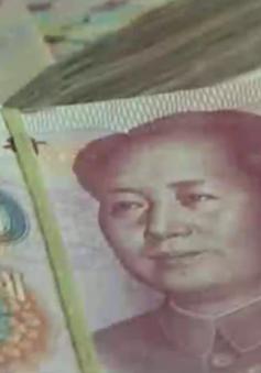 Trung Quốc nâng tỷ giá đồng NDT mạnh nhất 4 tháng qua