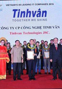 Tinh Vân lọt Top 50 doanh nghiệp CNTT hàng đầu Việt Nam 2016