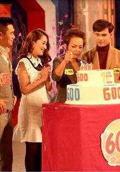 """Thái Thùy Linh, Khánh Thi rộn ràng thắp nến mừng """"Hãy chọn giá đúng"""" số 600"""