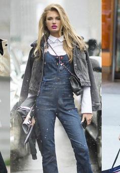 """""""Tăm tia"""" thời trang dạo phố của các thiên thần Victoria's Secret"""