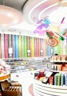 Người dân Hàn Quốc phát sốt vì kẹo dẻo