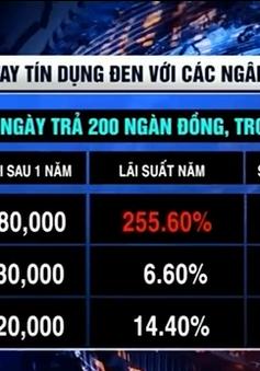 Kinh hoàng lãi suất tín dụng đen 255%/năm tại An Giang
