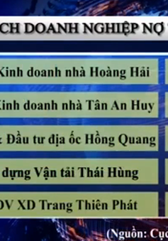 """TP.HCM công bố DN nợ thuế: Doanh nghiệp BĐS nợ """"đầm đìa"""""""