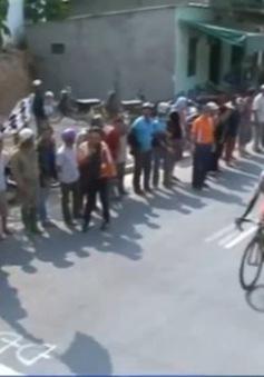 Giải đua xe đạp Cúp Truyền hình TP.HCM: Nguyễn Tấn Hoài giành Áo đỏ