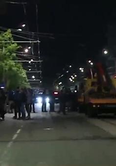 Đặc nhiệm Nga nổ súng tiêu diệt kẻ cướp ngân hàng