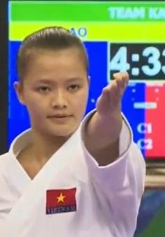 Giải Karatedo quốc tế mở rộng: ĐT Việt Nam giữ vị trí số 2