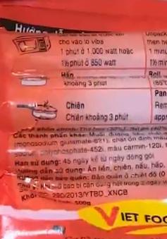 Hà Nội lập đoàn kiểm tra vụ xúc xích Viet Foods
