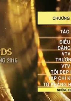 Café Sáng với VTV3: Hấp dẫn những thông tin về VTV Awards, SV 2016