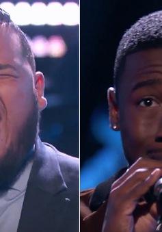 """The Voice Mỹ: """"Nổi da gà"""" trước màn trình diễn bản hit Hello của Adele"""