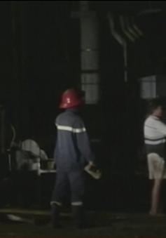 10 người nhập viện do rò rỉ khí gas tại Bến Tre