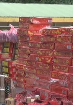 Hàng trăm hộp pháo Trung Quốc bị bắt giữ tại Thanh Hóa