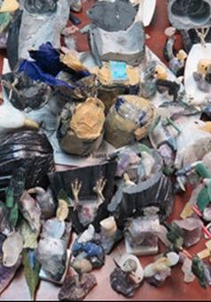 Bắt vụ vận chuyển gần 2kg cocain qua cửa khẩu sân bay Tân Sơn Nhất