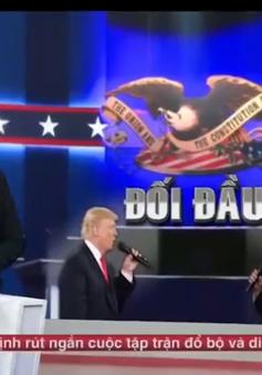 """""""Cuộc tranh luận xấu xí"""" và chiến thắng thuộc về... ông Trump?"""