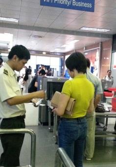 34 vụ vi phạm an ninh hàng không trong 10 tháng