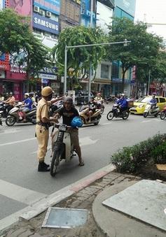 Hà Nội: Xử phạt nguội hơn 7.600 trường hợp vi phạm giao thông