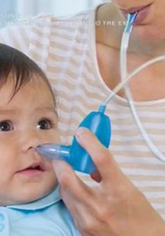 """""""Tiêu chuẩn vàng"""" trong điều trị viêm mũi, viêm xoang ở trẻ"""