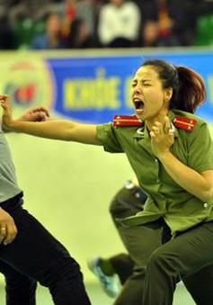 700 cán bộ, chiến sĩ so tài tại Liên hoan võ thuật Thanh niên Công an