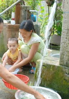TP.HCM yêu cầu tuyên truyền để 100% hộ dân dùng nước sạch