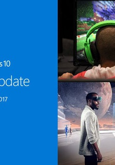 Microsoft cập nhật miễn phí hệ điều hành Window với các tính năng 3D