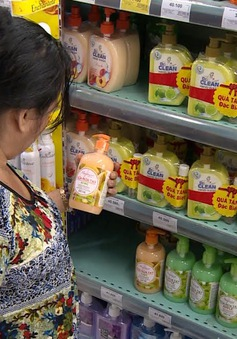 Nhiều sản phẩm nước rửa tay tại Việt Nam chứa Triclosan và Triclocarban