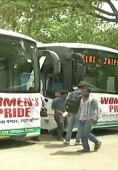 Xe bus chống bạo lực và cưỡng bức tại Ấn Độ