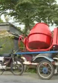 Xe tự chế ngang nhiên lưu thông tại Đồng Tháp