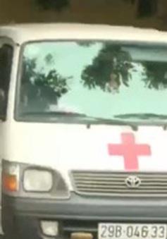 """Toàn bộ xe cứu thương dán logo 115 mang biển trắng đều là xe """"mạo danh"""""""