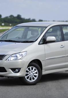 Thu hồi hơn 700 xe Innova bị dính lỗi tại Việt Nam