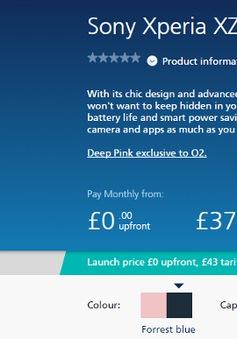 Sony Xperia XZ chính thức ra mắt phiên bản màu hồng tại Anh