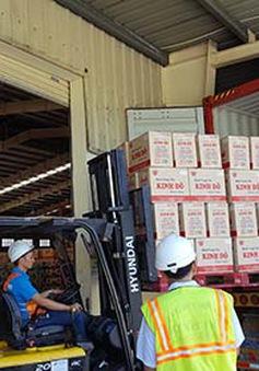 Xuất khẩu lô bánh Trung thu đầu tiên sang Mỹ