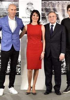 Real Madird thẳng tay loại 3 con trai của Zidane
