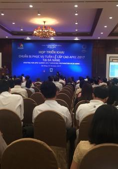 Đà Nẵng: Họp công tác chuẩn bị phục vụ cho Tuần lễ Cấp cao APEC 2017