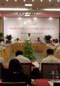 Phiên họp toàn thể lần thứ 6 Ủy ban Kinh tế của Quốc hội