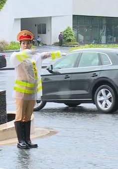 Những nữ Cảnh sát giao thông tại Tuần lễ Cấp cao APEC