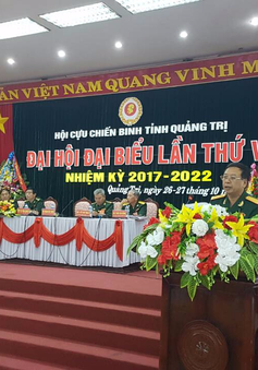 Quảng Trị: Đại hội đại biểu Hội Cựu chiến binh nhiệm kỳ 2017 - 2022