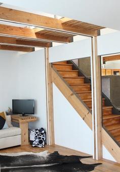 """Căn nhà tối giản với những vật dụng hình khối siêu """"độc"""""""