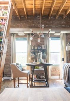 Thích mê căn hộ cũ trần thấp được biến hóa hiện đại
