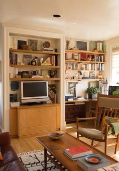 Mê mẩn căn hộ studio nhỏ xinh với nội thất toàn bằng gỗ